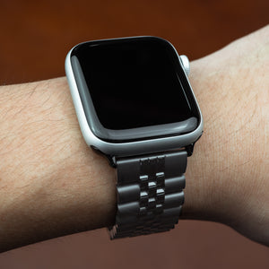 Apple Watch Jubilee Metal Strap in Black (42 & 44mm)