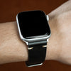 Apple Watch Premium Vintage Oil Waxed Leather Strap in Black (38 & 40mm)