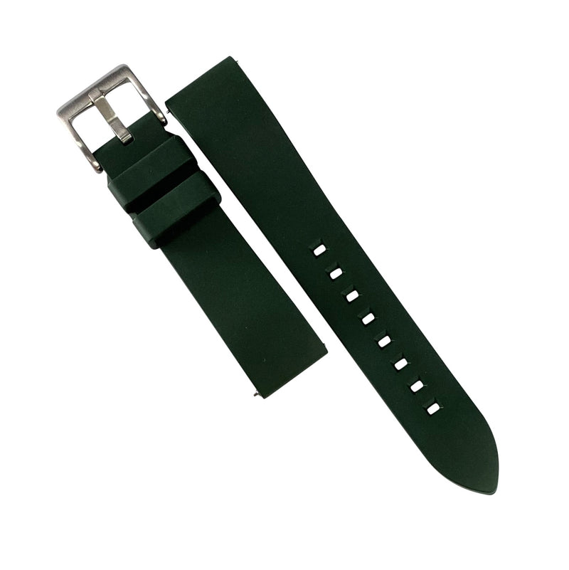 FKM Rubber Strap in Green (20mm)