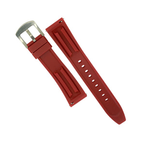 Flex Rubber Strap in Red (22mm)