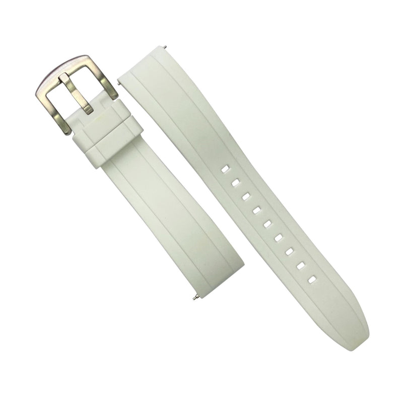 Flex Rubber Strap in White (20mm)