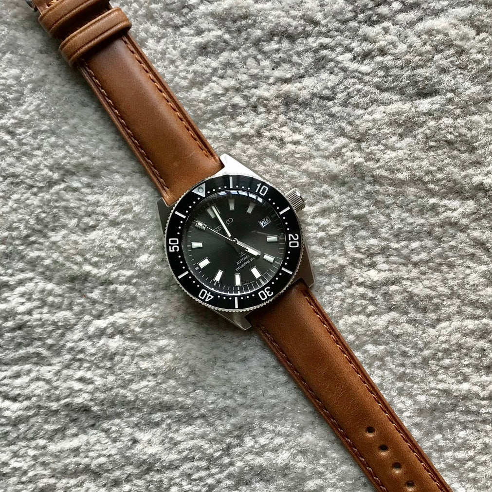 N2W Classic Horween Leather Strap in Chromexcel® Tan (20mm)