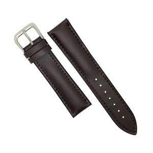Performax Classic Leather Hybrid Strap in Brown (20mm)