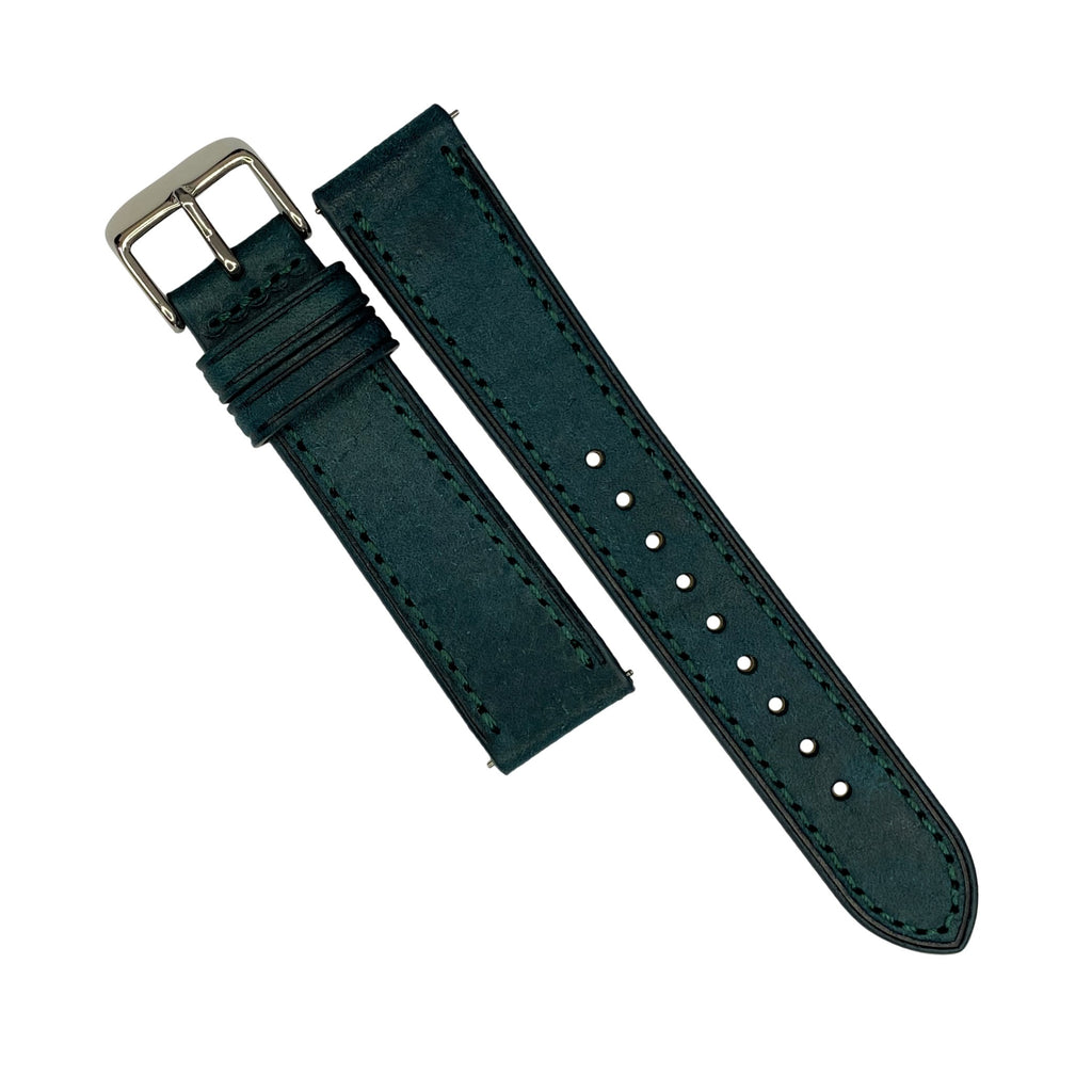 Emery Signature Pueblo Leather Strap in Ortensia (22mm)