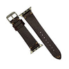 N2W Vintage Horween Leather Strap in Chromexcel® Burgundy (38 & 40mm)