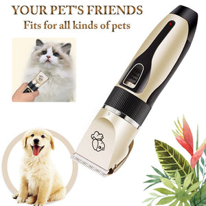 Titanium Ceramic Pet Hair Trimmer