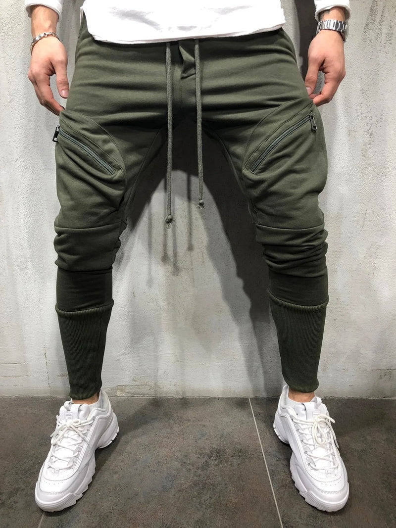 Lucas - Multi-pocket Sweatbroek