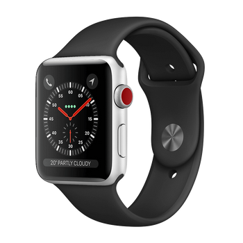Apple Watch Series 2 Aluminum 38mm Silver Pristine - WiFi
