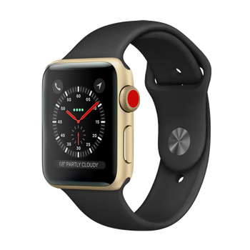 Apple Watch Series 3 Sport 42mm Gold Pristine - Celullar Unlocked