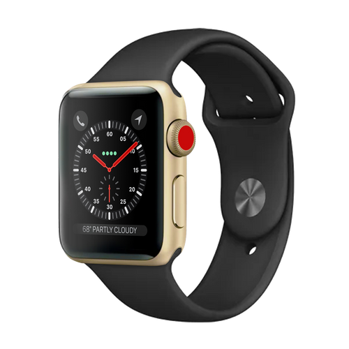 Apple Watch Series 3 Sport 42mm Gold Pristine - Cellular Unlocked