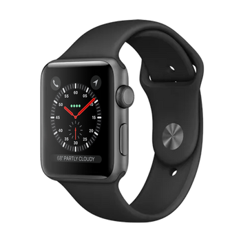 Apple Watch Series 3 Sport 42mm Grey Very Good - Celullar Unlocked