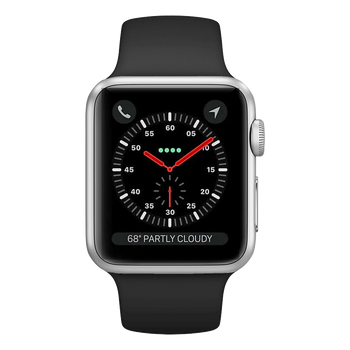 Apple Watch Series 3 Sport 38mm Silver Very Good - Celullar Unlocked