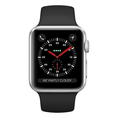 Apple Watch Series 3 Sport 42mm Silver Very Good - Cellular Unlocked