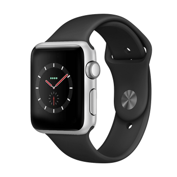 Apple Watch Series 3 Stainless 42mm Steel Very Good - Cellular Unlocked