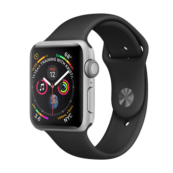 Apple Watch Series 4 Aluminum 44mm Silver Very Good - WiFi