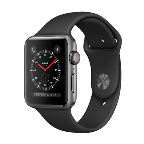 Apple Watch Series 4 Stainless 44mm Steel - Pristine - WiFi
