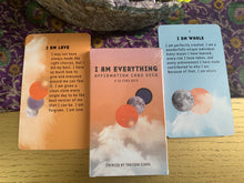 Load image into Gallery viewer, I AM EVERYTHING AFFIRMATION CARDS by I AM & CO.®