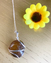 Load image into Gallery viewer, Spiral Crystal Necklaces