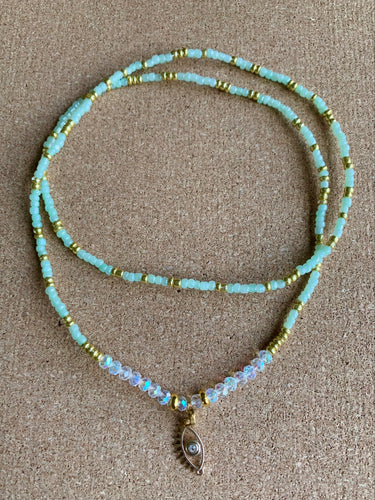 Third Eye Pastel Waist Bead- Single