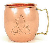 Load image into Gallery viewer, Copper Beer Mug | Set of 2 - geega-home-decor