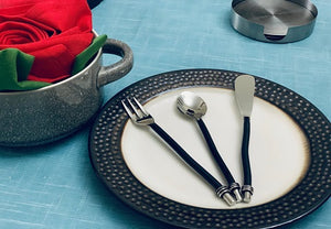 Black Breakfast Set - geega-home-decor