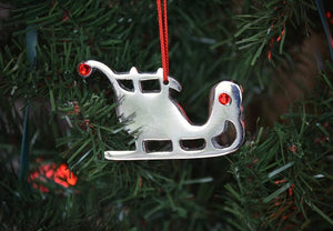 Christmas Tree Ornament | Santa Sleigh