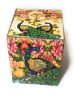Wooden Handcrafted Printed Gift Box - geega-home-decor