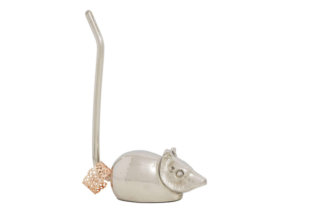 Silver Mouse Ring Holder - geega-home-decor