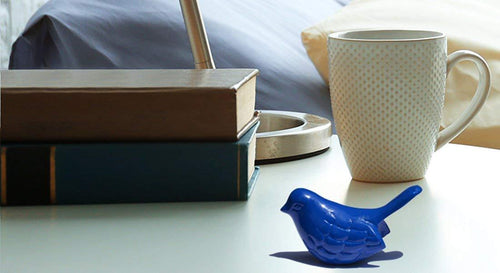 Blue bird of Happiness - geega-home-decor