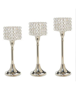 Crystal Candle holders - geega-home-decor