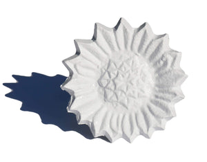 White Sunflower Napkin Rings - geega-home-decor