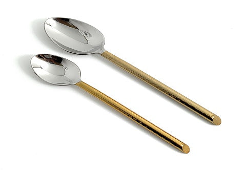 Golden Dinner | Dessert Spoons - geega-home-decor