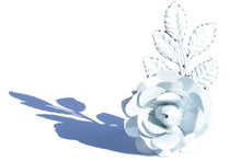 Load image into Gallery viewer, White Flower Napkin Rings - geega-home-decor