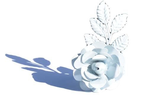 White Flower Napkin Rings - geega-home-decor
