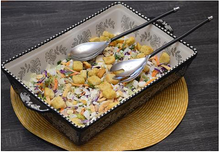 Load image into Gallery viewer, Black Salad Server - geega-home-decor