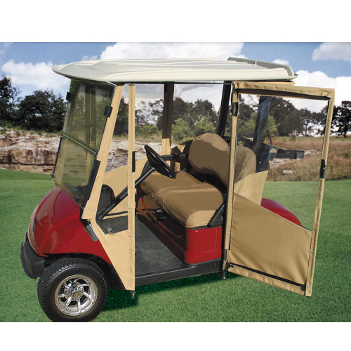 Crystal Renn Elle January 2010 furthermore Tusk Utv Rear Bumper Cargo Rack And Spare Tire Carrier For Polaris Rzr 900 Xp 1000 S 1000 additionally Yamaha Drive Sunbrella Door Works Golf Cart Enclosure also Club Car Ds Pre 2000 Sunbrella Door Works Golf Cart Enclosure 2 Pass additionally Hauler Standard Fairway Cafe Full Roof. on yamaha golf cart doors