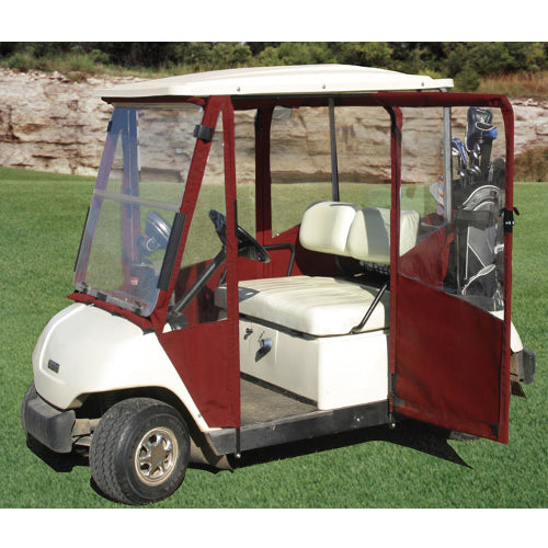 Hinged Door Golf Cart Enclosures : Yamaha g doorworks vinyl