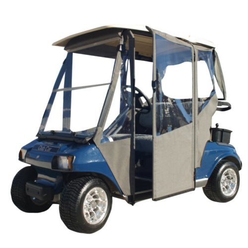Hinged Door Golf Cart Enclosures : Club car ds doorworks hinged door enclosure