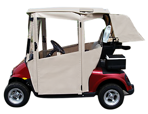 Doorworks Golf Cart Enclosures With Doors