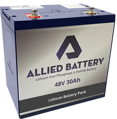 "Allied ""Drop in Ready"" 48V Lithium Batteries for Club Car Precedent"