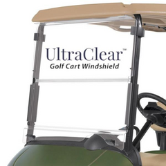 UltraClear Golf Cart Windshield for EZGO RXV - Includes Hardware