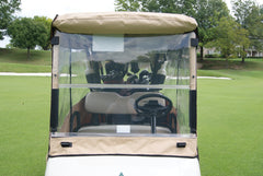 3 Sided Cover WindSeal Kit- Sunbrella. Wind-Proof Your Cart.