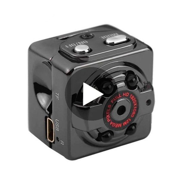 HD 1080P Mini Body Camera - Lu Màns