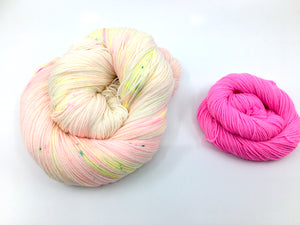 Sock Set - Can you please yell softer? with 2 minis Absinthe and Bubblegum
