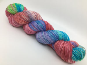Coral Reef Sparkly Sock