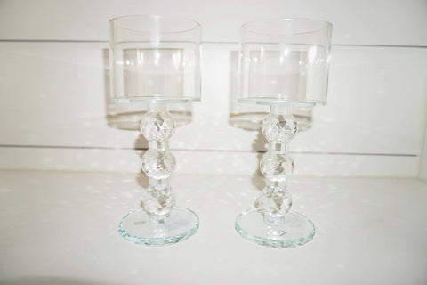 Chandelier Candle Holder Set