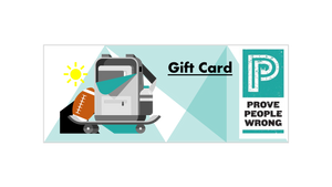 Prove People Wrong Gift Card