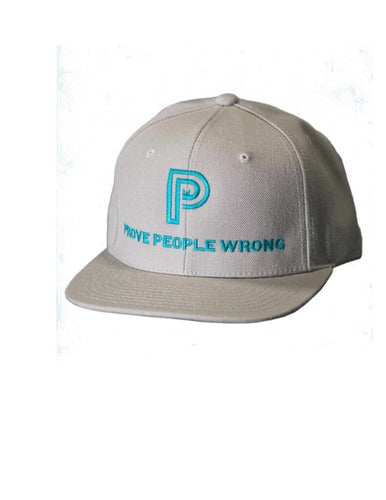 Throwback - PPW Grey SnapBack Hat