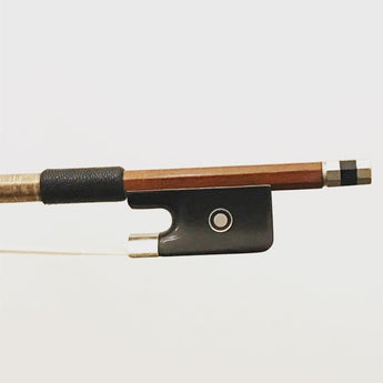 1/2 & 3/4 Nickel mounted Brazilian cello bow by Marco Raposo