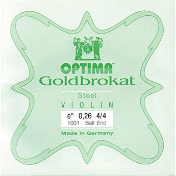 Optima Goldbrokat Violin E